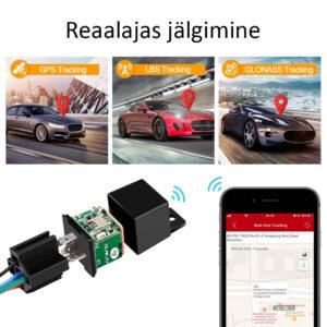 Mini GPS jälgijaga on võimalik jälgida sõiduki liikumist reaalajas