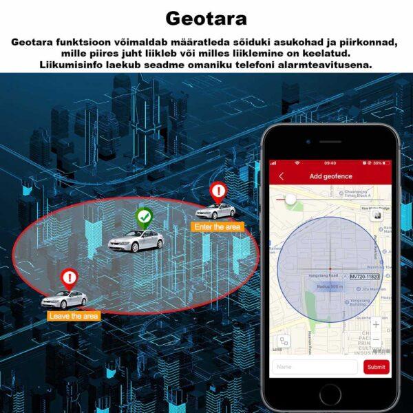 Geotara - Mini GPS jälgija