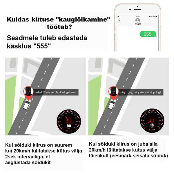 Kuidas kütuse kauglõikamine töötab - Mini GPS jälgija